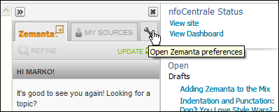 Zemanta calls me someone else on first start-up in Windows Live Writer